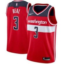 Men s Nike Washington Wizards  3 Bradley Beal Red NBA Swingman Icon Edition  Jersey 12d46f446