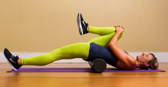 Quick Fix For Back Pain — Stretch Your Hip Flexors- supposed to do this stretch, and then pull knee to the side a bit