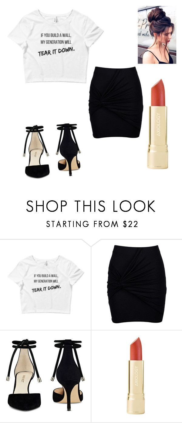 """Tear it Down"" by virgo-sloth ❤ liked on Polyvore featuring Boohoo and Nine West"