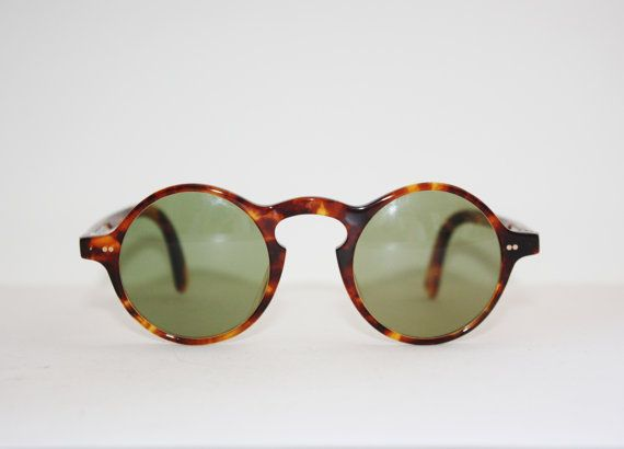 47952657f27 Vintage Sunglasses Jean Paul Gaultier 57-JG72 Steampunk Round Lennon Style  Made in Japan