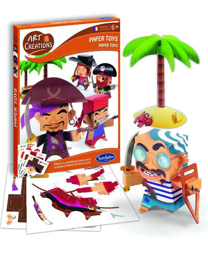 SentoSpherE Фигурки из бумаги Пираты