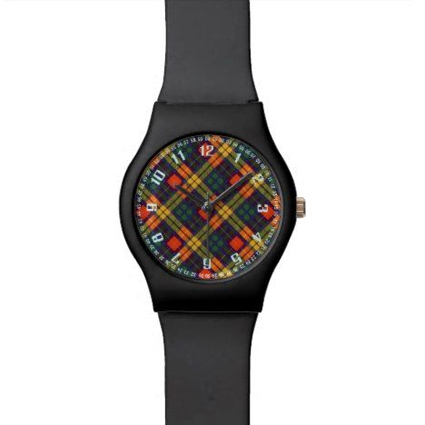 MacKinley clan Plaid Scottish kilt tartan Watch #tartan #pattern #watches