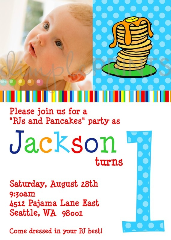 another P & P invite from dimpleprints: Kids Parties, Jj Parties, Birthday Parties, Pj And Pancakes Parties, Boys Parties, Fresh Parties, Bday Parties, Pajamas Parties, Pancakes And Pajamas Party Boy