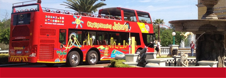 City Sightseeing Hop on, Hop off Red Bus