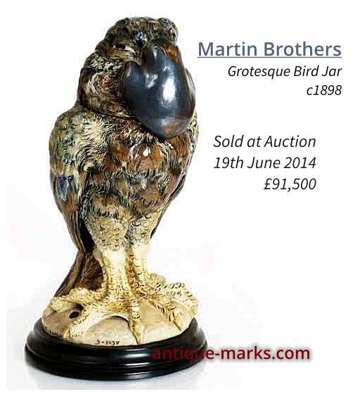Martin Brothers Gothic Bird