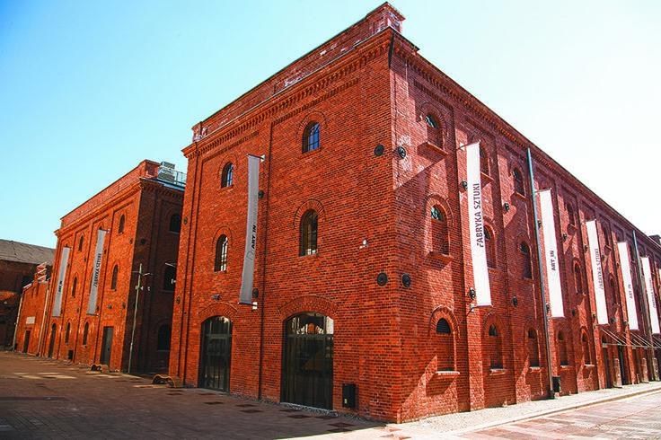 XIX century textile warehouses. Now Fabryka Sztuki [Art Factory] & Art_Inkubator.