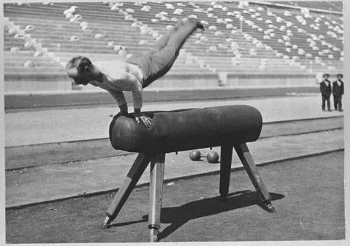 The First Olympics in 1896: Vaulting