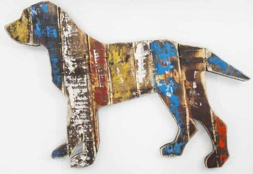Wood Wall Art Sculpture Picture - Shabby Chic Vintage Dog by Brilliant Wall Art, http://www.amazon.co.uk/dp/B00G3JUKQG/ref=cm_sw_r_pi_dp_CCNftb0WDWN24