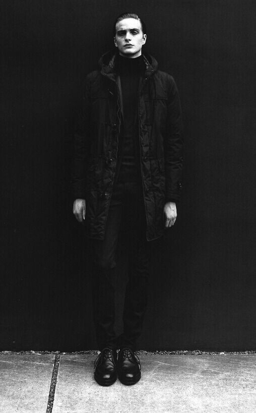 black&white, boy, fashion, dark, black