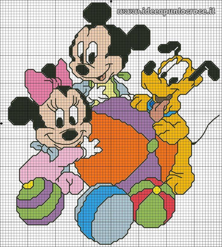 Best 25 disney cross stitches ideas on pinterest hama for Schemi punto croce bambini disney