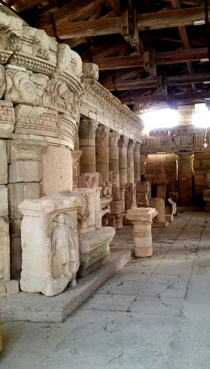 Roman Museum, Saintes, Charente Maritime in France. Photo by Christine Gittins