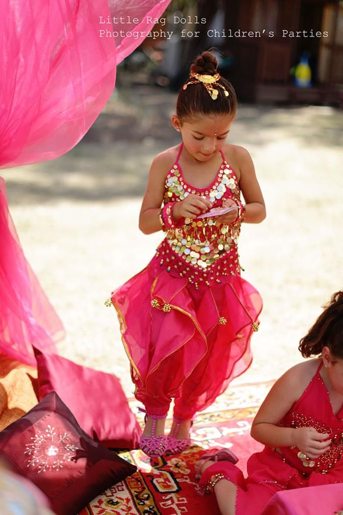 Arabian Belly Dancer Party