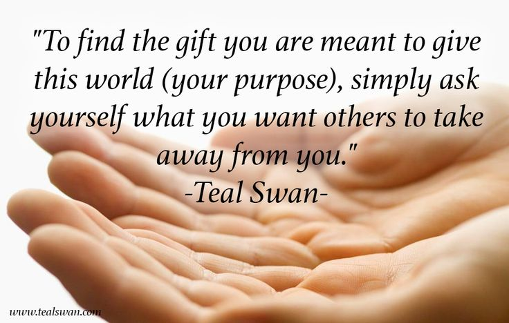 GIFT QUOTE by Teal Swan on #TheSpiritualCatalyst