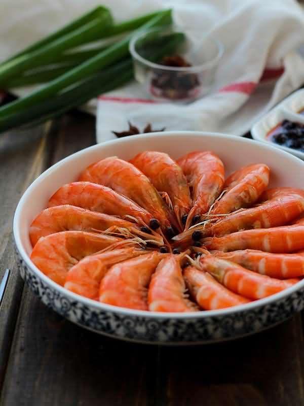 Boiled Shrimp - Halal  Chinese Food