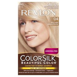 Buy Revlon Colorsilk 4 Ultra Natural Blonde 130.0 ml Online | Priceline