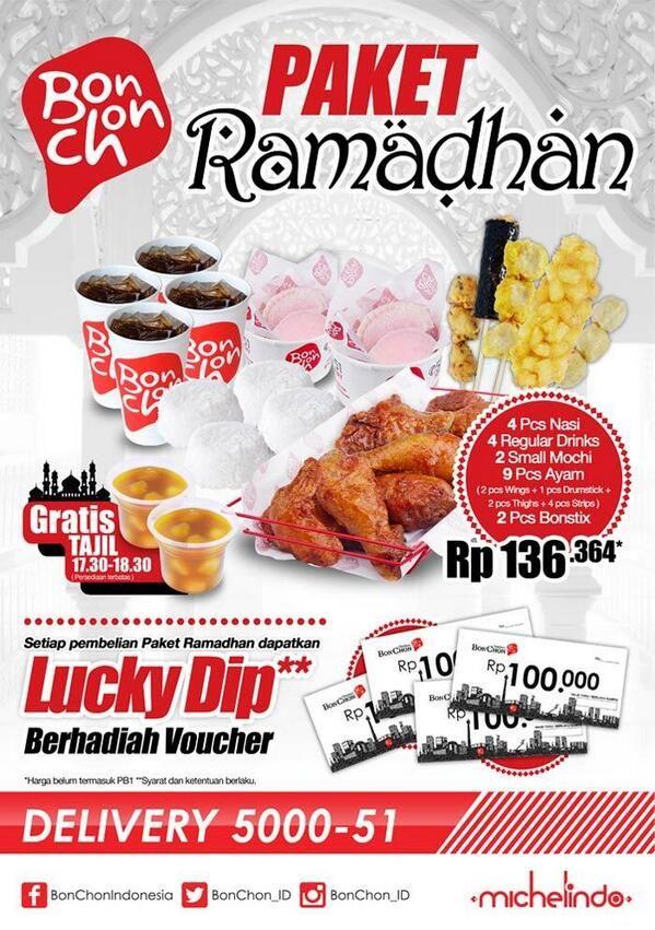 BonChon Chicken: Promo Paket Ramadhan @bonchon_ind