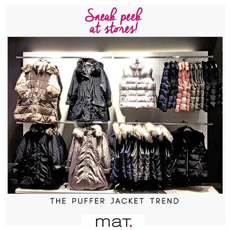 Sneek peek at #matfashion store @avenuemallathens Καθώς η θερμοκρασία έχει πέσει για τα καλά και το κρύο έχει αρχίσει να γίνετε αισθητό, ήρθε η στιγμή να αναζητήσουμε το κατάλληλο μπουφάν! Τα #matfashion μπουφάν είναι κυρίαρχα ρούχα της χειμερινής μας γκαρνταρόμπας και μπορούν να φορεθούν κάθε στιγμή της ημέρας κρατώντας μας ζεστές και stylish! Aνακάλυψε τα σε όλα τα αποκλειστικά καταστήματα και online!