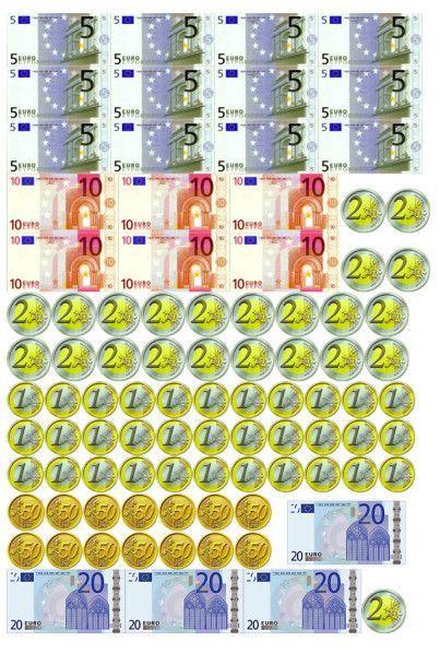 Maths : Plein d'exercices pour travailler avec la monnaie. - Ma classe d'ados autistes.
