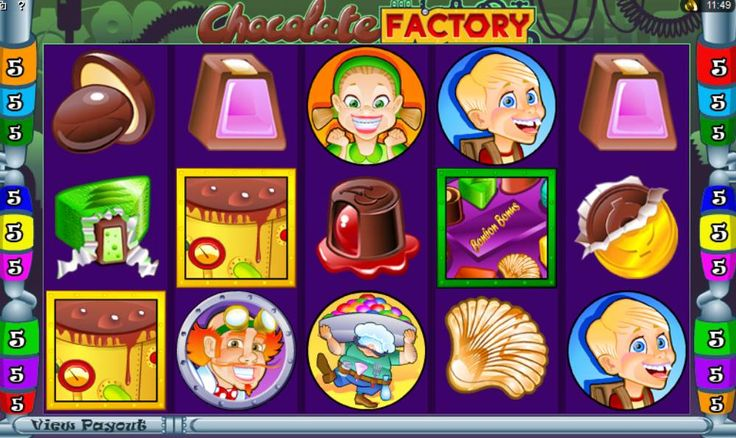 Play Chocolate Factory Slot: Get £€$100 FREE!