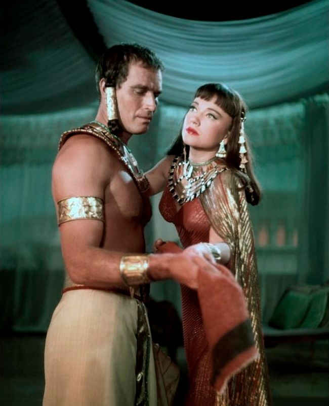 Charlton Heston - The Ten Commandments.... freaking loved them together!!!