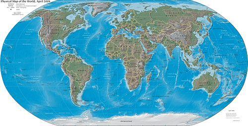 Wereldkaart - Wikipedia