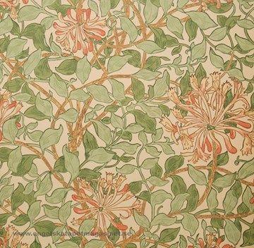 William Morris Honeysuckle Tapet