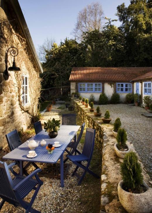 Las 25 mejores ideas sobre senderos de jard nes de piedra - Casas de campo en galicia ...