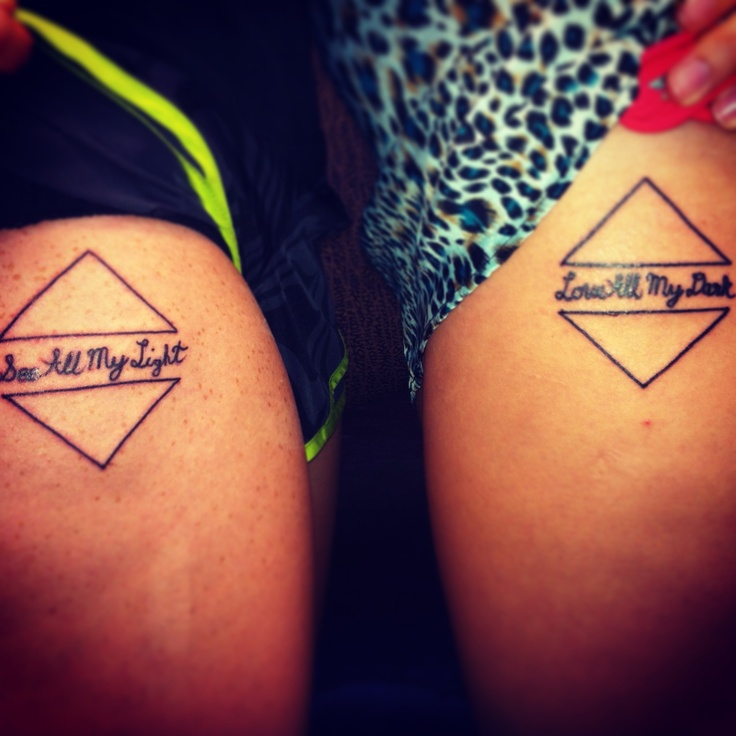 17 Best Images About Tattoos On Pinterest: 17 Best Images About Best Friend Tattoos On Pinterest