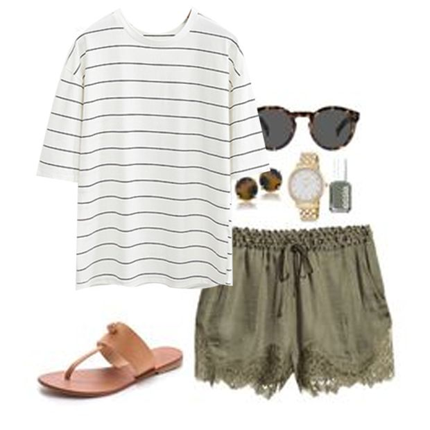 Striped tops are the summer essentials~