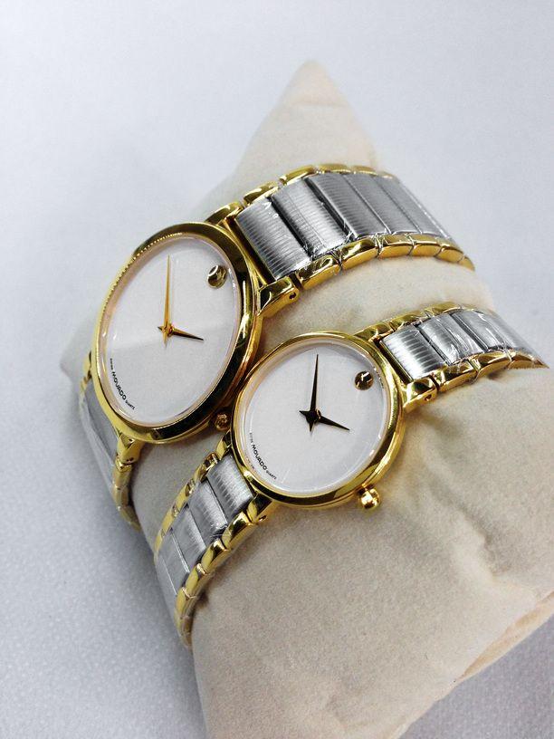 Đồng hồ đôi giá rẻ Movado C-MV1483-SG