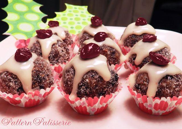 Mini Christmas Pudding Dried Fruit Balls