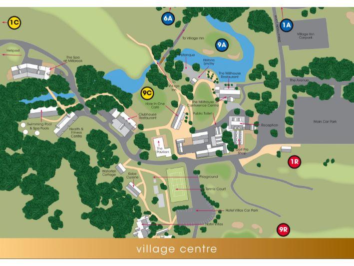 Resort Maps - The Resort - Millbrook Resort