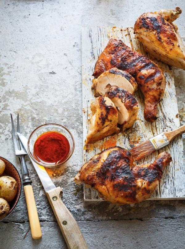 Recette de poulet grillé à la portugaise de Ricardo
