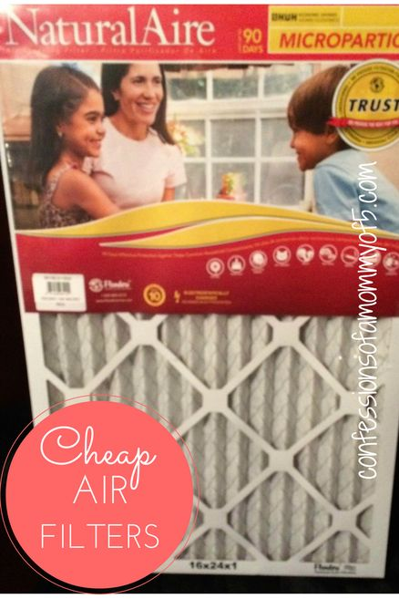Breathe easy with air filters delivered right to your door! - Confessions of A Mommy of 5