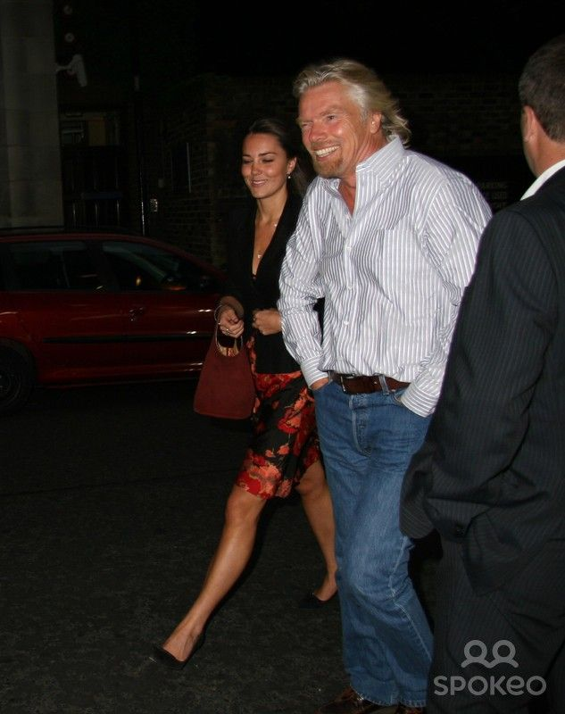 Kate Middleton And Sir Richard Branson Leaving The Wta Pre Wimbledon Party Party Held At Kensington R Kate Middleton Photos Kate Middleton William Kate Wedding