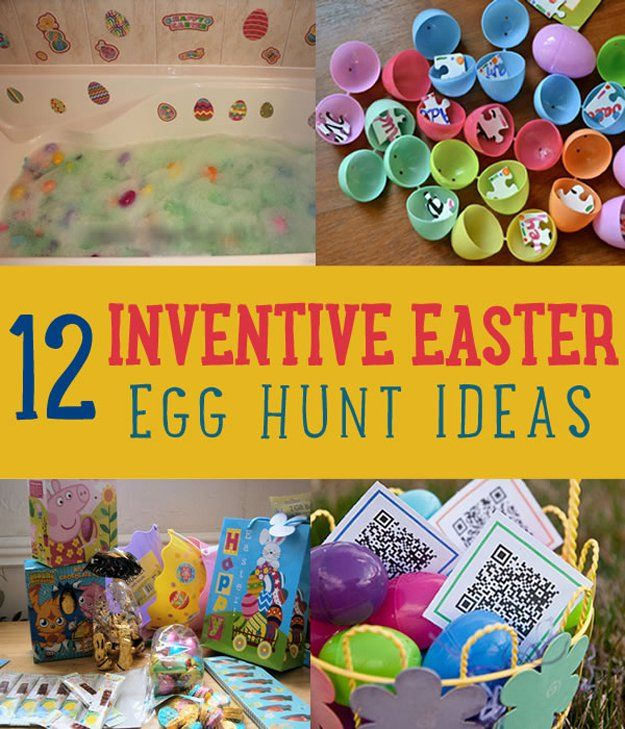 12 Inventive Easter Egg Hunt Ideas