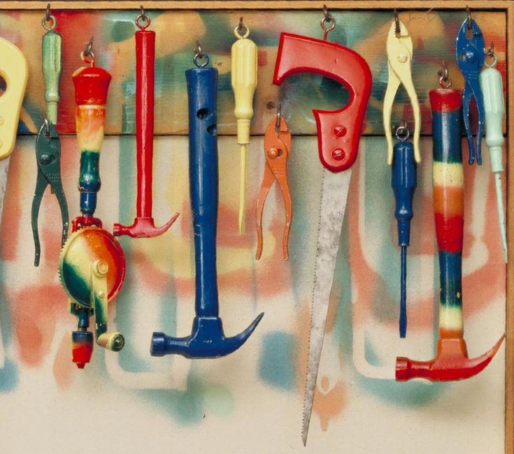 Garden Tools Art For Kids