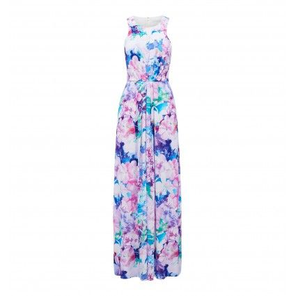 Phoebe pleated maxi dress