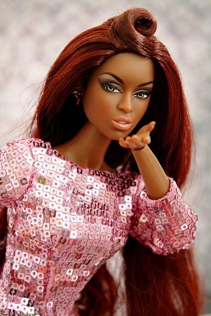 Kenya Moore Miss USA Barbie Beautiful barbie dolls