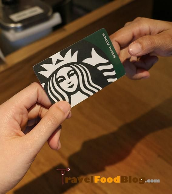 Get the Starbucks Special Edition Siren Card and Monday to Friday Upsize Treat