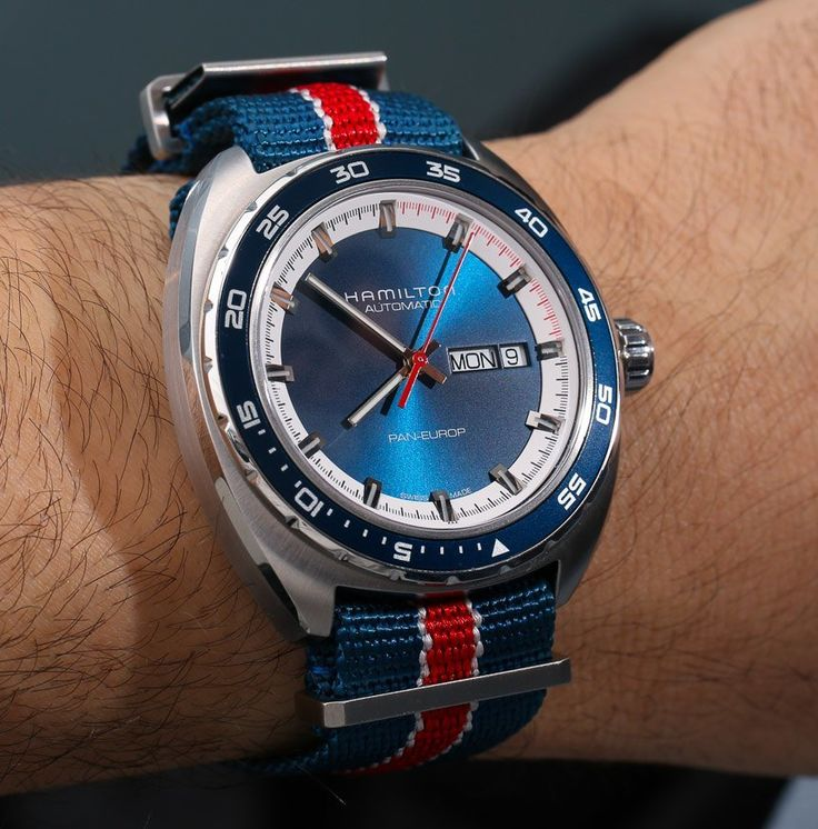 When America iterates the european style: HAMILTON Pan Europ. A good reason why no day should be an ordinary day. #HAMILTONWATCH #HAMMY #PANEUROP #KhaValeri http://www.pinterest.com/KhaValeri/