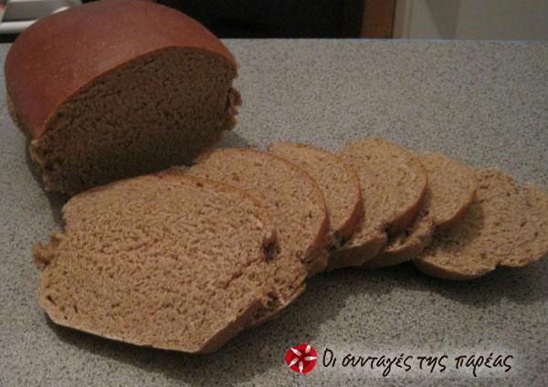 Εύκολο, πεντανόστιμο ψωμάκι για τοστ #sintagespareas