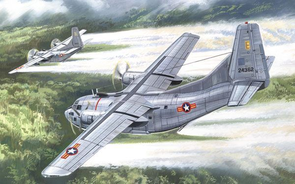 Fairchild UC-123K Provider. A Model, 1/144, injection, No.1408. Price: 13,86 GBP.