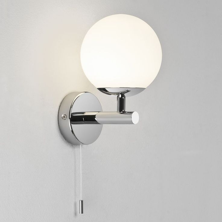 64 best astro bathroom wall lights images on pinterest bathroom the california switched bathroom wall light has a polished chrome finish with a white frosted shade audiocablefo
