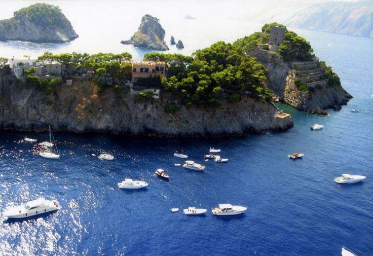 Positano - Isola de Li Galli