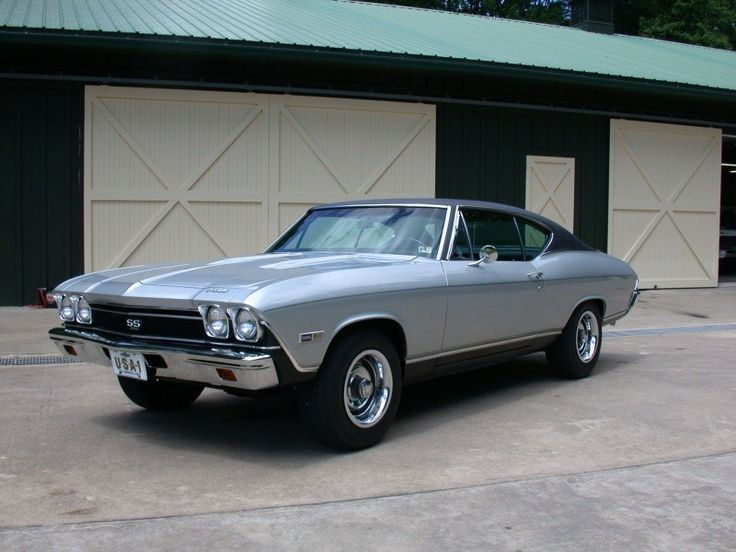 1968 Chevelle, SS model had 396 cubic inch engine, got 8 mpg