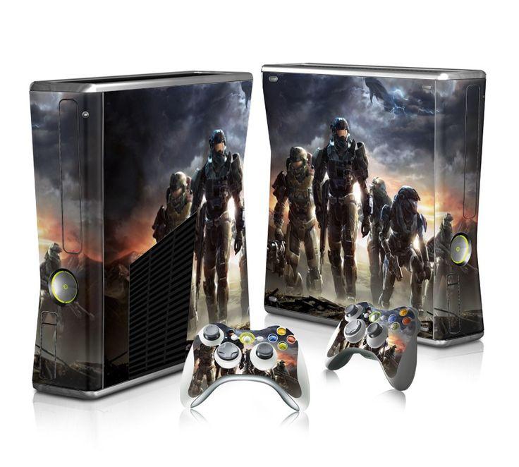 Halo Reach sticker skin for Xbox 360 slim