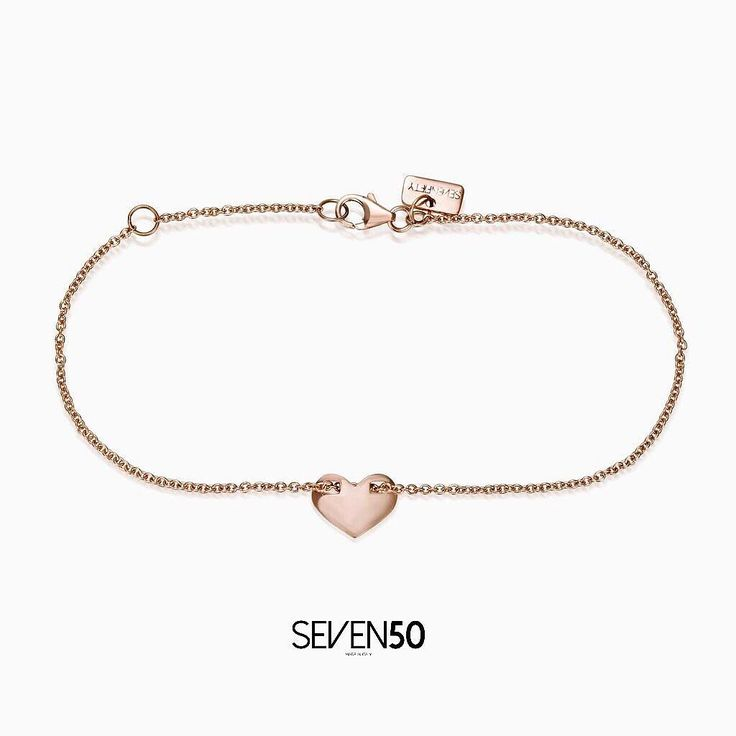 HEART CHARM BRACELET in 9k rose gold Shop in on http://ift.tt/2ntCc8y #silver #silver925 #seven50 #seven50jewels #sevenfifty #750 #jewelry #jewels #jewel #fashion #rings #rings #trendy #accessories #love #beautiful #ootd #fashion #style #madeinitaly #italy #accessory #stylish #fashionjewelry