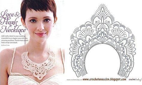 Free crochet patterns necklace
