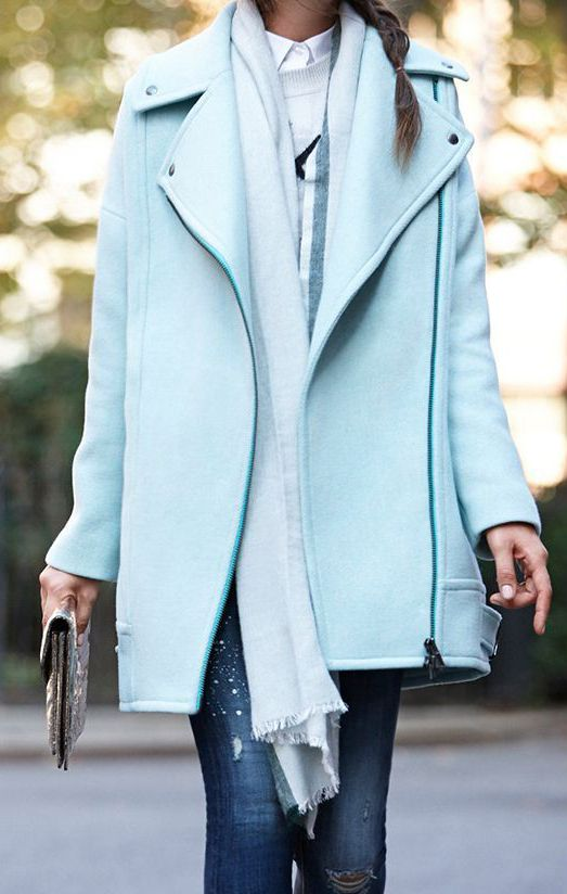 My favorite part about colder weather—coats! I have lots of in my closet. Love the color and length of this one!